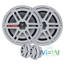 "NEW JL AUDIO M770-CCS-SG-WH 7.7"" MARINE COMPONENT SPEAKERS w/ SPORT GRILLS WHITE"