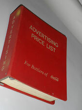 HUGE VINTAGE 1960s COCA COLA ADVERTISING CATALOG! SIGNS/STORE DISPLAYS/NEGRO ADV
