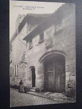 CPA Cognac maison de la nourrice de François Ier