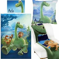 Good Dinosaur Duvet Cover & Cushion & Fleece Blanket Bundle Set