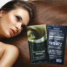 New Steam Hair Keratin Serum Oil & Vitamin BOOST Repair Hair Treatment Mask