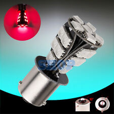 1156 BAU15S 5050 Red CANBUS OBC Error Free SMD Brake Tail Car LED Light Bulb K