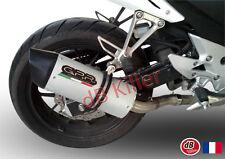 SILENCIEUX GPR FURORE ALU HONDA CB 500 F 2013/16