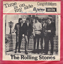 The Rolling Stones - Time Is On My Side / Congratulations -Dänemark 1964
