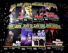 4 TOP Taschenbücher * JOHN SINCLAIR 1991 bis 98 * UNGELESEN * ua. MR. POSTMAN