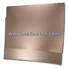 5 Pc Plain Copper Clad Glass Epoxy PCB 4X4 Inches Double Sided+Marker Pen
