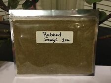 Sage, Rubbed, 1 oz Dried, Buy 3 Items Get Free Spice See Details, Food Beverages