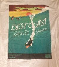 The Best Coast w/ Blouse/Warm Soda RARE One Off T-shirt LARGE Converse Wavves