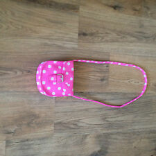 """+  Gorgeous   Next Pink Spotted  Bag """" No longer in store"""""""