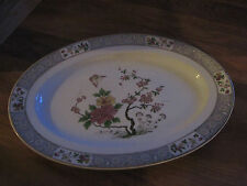 "CROWN IMPERIAL ""NANKIN"" 16 INCH OVAL SERVING PLATTER"