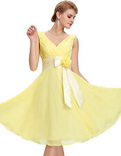 Short Formal Bridesmaid Homecoming Evening Prom Party Dress Plus Size 2-24W New