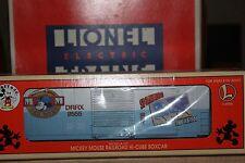 Lionel Mickey Mouse Railroad Hi-Cube BoxCar 6-29205