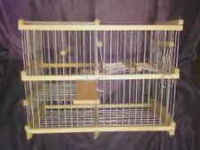 Cage à balance intelligent  pour récupérer vos oiseaux ( Cage piège )