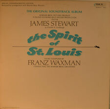 "OST - SOUNDTRACK - THE SPIRIT OF ST.LOUIS - FRANZ WAXMAN  12"" LP (L882)"