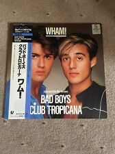"❣RARE❣️JAPAN 12""•Bad Boys/Club Tropicana~Wham! (George Michael) NM"