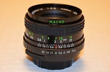 Kalimar MC Automatic 28mm f2.8 Macro Pentax M42 Screw Mount Lens CLEAN