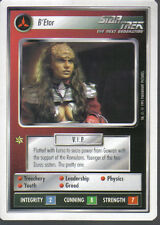 STAR TREK CCG WHITE BORDER PREMIERE 1995 BETA RARE CARD B'ETOR