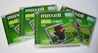 4 Maxell DVD-ram Blank Rewritable 8cm Camcorder Discs 60min 2.4GB Double sided