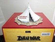 BRITAINS 20070 ZULU WAR BRITISH BELL TENT METAL TOY SOLDIER FIGURE DIORAMA