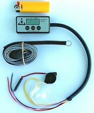 Engine Guard EG01 Temperature Sensor/Gauge, low coolant alarm, compact display