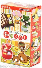 Rilakkuma re-ment vida Kawaii Mini anime japonés Rement muñeca casa miniatura