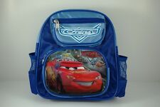RARE Pixar Cars Kids School Backpack Rucksack Book Bag + BADGE FREE SHIP