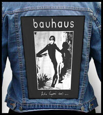 BAUHAUS - Bela Lugosi's dead    --- Giant Backpatch Back Patch