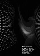 Harman Kardon MAS110 Music System Owners Instruction Manual