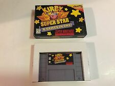 Kirby Super Star (Super Nintendo, SNES 1996) In Original Box Near Complete CIB