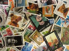 Modern US postage stamp lot used ALL DIFFERENT 30 - 39 CENT STAMPS FREE SHIPPING
