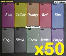 50x iphone 6 6s case cover wholesale joblot bulk 10 different colours