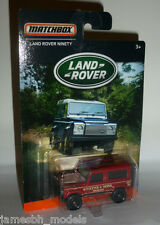 MATCHBOX LAND ROVER DEFENDER 90 (2016) NUOVO