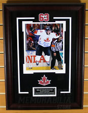 Brad Marchand Boston Bruins Signed Autographed 2016 GWG World Cup 8x10 Framed