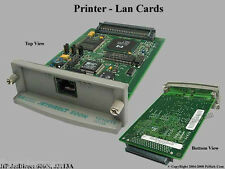 HP Laserjet 2100 2200 2300 4000 4050 10/100 Ethernet Network Print Server Card