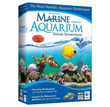 Avanquest Marine Aquarium Deluxe 3,Aqua Marine Screensaver,realistic fish coral