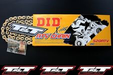 did atv xring chain suzuki ltr 450 chain d.i.d. x ring atv chain gold chain