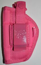 "Pink Gun holster For Smith & Wesson 38 Special 5 shot With 2"" Barrel"
