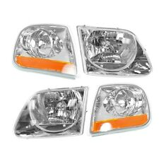 1998-03 FORD F-150/LIGHTNING 97-02 EXPEDITION HEADLIGHTS AND CORNER LAMPS COMBO