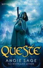 Queste: Septimus Heap Book 4 (Rejacketed) - New Book Sage, Angie