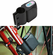 Bicycle Motorbike Moped Cycling Bike Alarm Lock Sound Loud Security Anti-theft