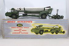 Dinky Toys No 666 Missile Erecting Vehicle w/ Missile - Meccano Ltd