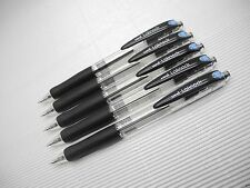 (5 Pen) UNI-BALL Jetstream SN-100 0.5mm Extra Fine roller ball pen, black