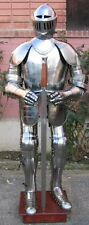 KNIGHT FULL SUIT OF ARMOUR,LARP,MILITARIA REPLICA , ARMOURY