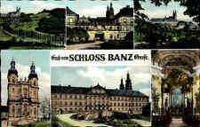 Bad Staffelstein Bayern 1972 Mehrbildkarte Schloss Banz Innenansicht Park Totale