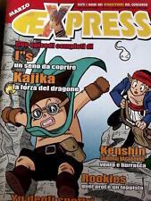 EXpress - rivista fumetti Manga n°21 2000 ed. Star Comics  [C14B]