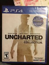 Uncharted: The Nathan Drake Collection (Sony PlayStation 4, 2015) Factory Sealed