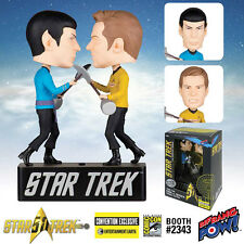 "STAR TREK ""ORIGINAL SERIES AMOK TIME KIRK VS SPOCK"" BOBBLEHEAD NEW IN BOX"