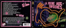 DOUBLE CD 19T + MEDLEY LES ENFOIRÉS LA FOIRE AUX ENFOIRÉS 2003 GOLDMAN, ZAZIE ..