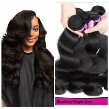 4 Bundles/200g Brazilian Virgin Body Wave Weave Weft 100% Human Hair Weave Weft