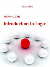 Introduction to Logic by Rod Girle (Paperback, 2007)